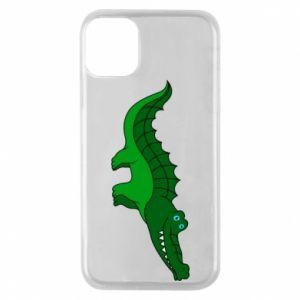 Etui na iPhone 11 Pro Blue-eyed crocodile