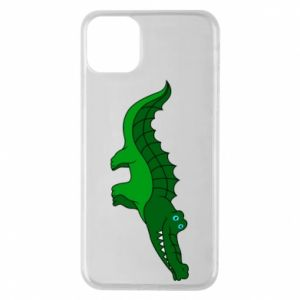 Phone case for iPhone 11 Pro Max Blue-eyed crocodile