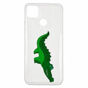 Etui na Xiaomi Redmi 9c Blue-eyed crocodile