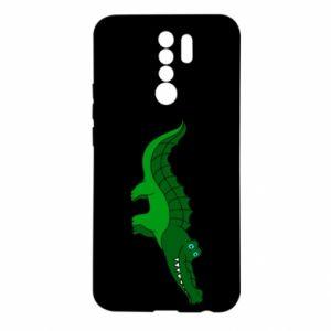 Etui na Xiaomi Redmi 9 Blue-eyed crocodile