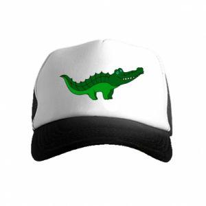 Czapka trucker dziecięca Blue-eyed crocodile