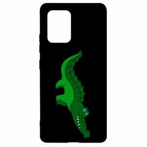 Etui na Samsung S10 Lite Blue-eyed crocodile