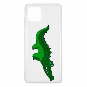 Etui na Samsung Note 10 Lite Blue-eyed crocodile