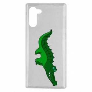 Etui na Samsung Note 10 Blue-eyed crocodile