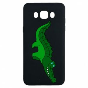 Etui na Samsung J7 2016 Blue-eyed crocodile