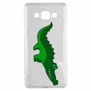 Etui na Samsung A5 2015 Blue-eyed crocodile