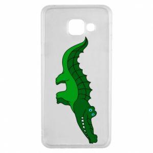 Etui na Samsung A3 2016 Blue-eyed crocodile