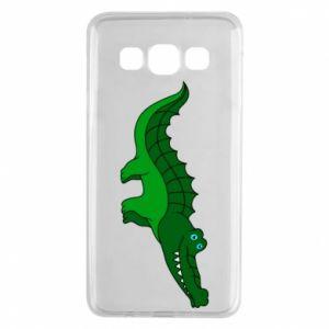 Etui na Samsung A3 2015 Blue-eyed crocodile