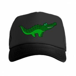 Czapka trucker Blue-eyed crocodile