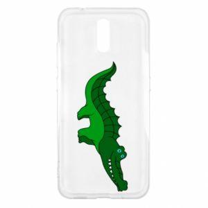 Etui na Nokia 2.3 Blue-eyed crocodile