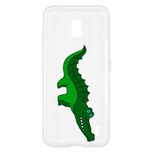 Etui na Nokia 2.2 Blue-eyed crocodile