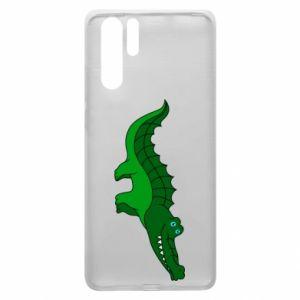 Etui na Huawei P30 Pro Blue-eyed crocodile