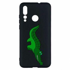 Etui na Huawei Nova 4 Blue-eyed crocodile