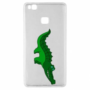 Etui na Huawei P9 Lite Blue-eyed crocodile