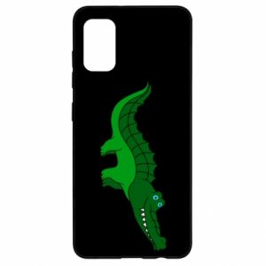 Etui na Samsung A41 Blue-eyed crocodile