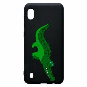Etui na Samsung A10 Blue-eyed crocodile