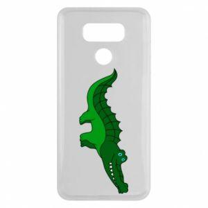 Etui na LG G6 Blue-eyed crocodile