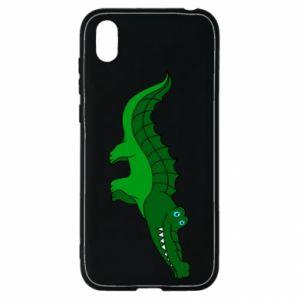 Etui na Huawei Y5 2019 Blue-eyed crocodile