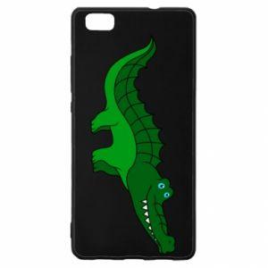 Etui na Huawei P 8 Lite Blue-eyed crocodile