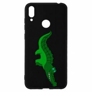 Etui na Huawei Y7 2019 Blue-eyed crocodile
