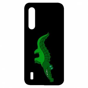 Etui na Xiaomi Mi9 Lite Blue-eyed crocodile