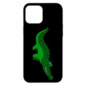 Etui na iPhone 12 Pro Max Blue-eyed crocodile