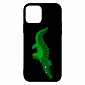 Etui na iPhone 12/12 Pro Blue-eyed crocodile
