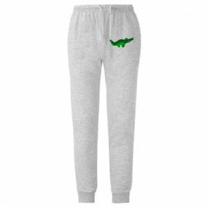 Spodnie lekkie męskie Blue-eyed crocodile
