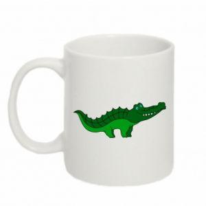 Kubek 330ml Blue-eyed crocodile