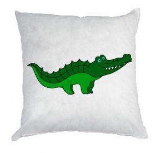 Poduszka Blue-eyed crocodile