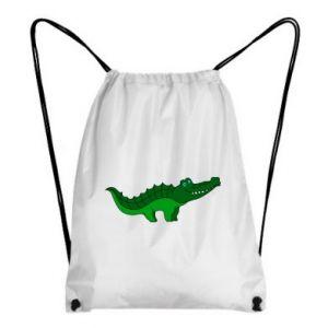 Plecak-worek Blue-eyed crocodile
