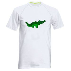 Koszulka sportowa męska Blue-eyed crocodile