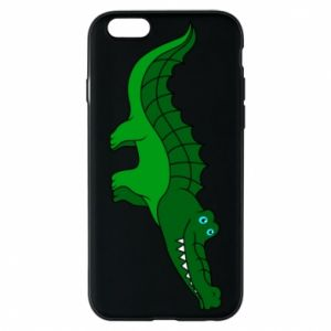 Phone case for iPhone 6/6S Blue-eyed crocodile