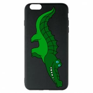Phone case for iPhone 6 Plus/6S Plus Blue-eyed crocodile