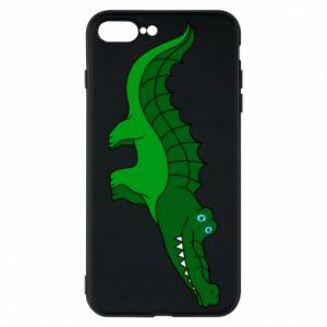 Etui na iPhone 8 Plus Blue-eyed crocodile