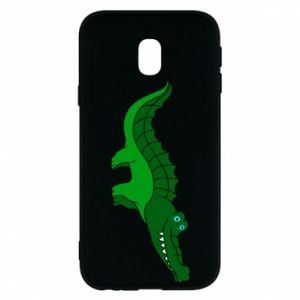 Etui na Samsung J3 2017 Blue-eyed crocodile