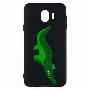 Etui na Samsung J4 Blue-eyed crocodile