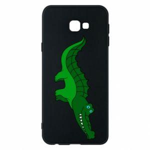 Etui na Samsung J4 Plus 2018 Blue-eyed crocodile