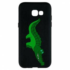 Etui na Samsung A5 2017 Blue-eyed crocodile