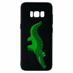 Phone case for Samsung S8 Blue-eyed crocodile