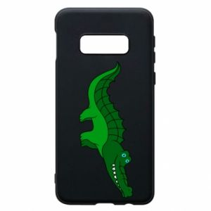 Etui na Samsung S10e Blue-eyed crocodile