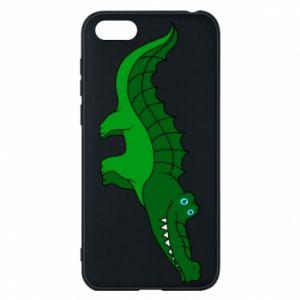 Etui na Huawei Y5 2018 Blue-eyed crocodile