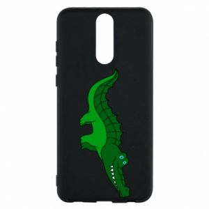 Phone case for Huawei Mate 10 Lite Blue-eyed crocodile