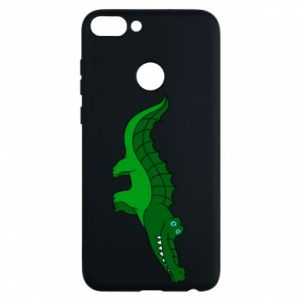 Phone case for Huawei P Smart Blue-eyed crocodile