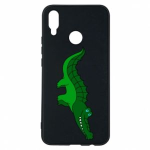Phone case for Huawei P Smart Plus Blue-eyed crocodile
