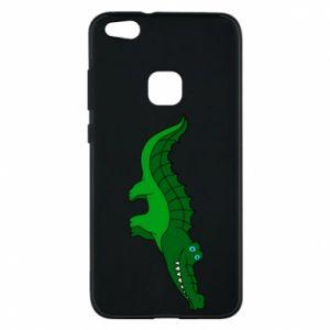 Etui na Huawei P10 Lite Blue-eyed crocodile