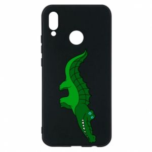 Phone case for Huawei P20 Lite Blue-eyed crocodile