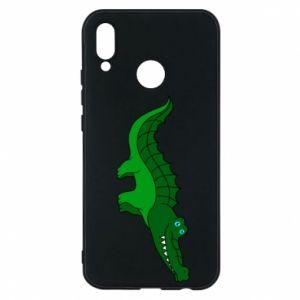 Etui na Huawei P20 Lite Blue-eyed crocodile