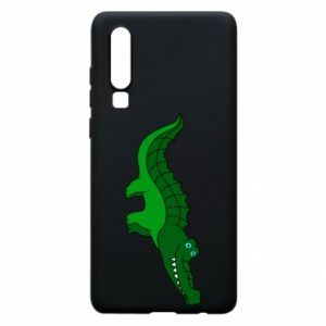 Phone case for Huawei P30 Blue-eyed crocodile
