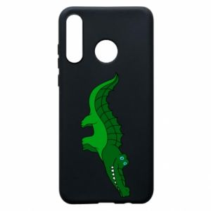 Phone case for Huawei P30 Lite Blue-eyed crocodile